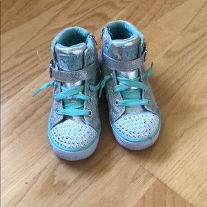 Twinkle toes light up shoes. Size 10